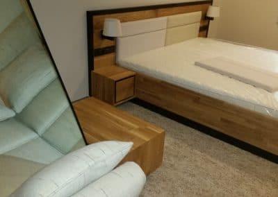 Декоративно пано зад спалня /обшивка/ - 150 мм, рустик, прозрачно масло