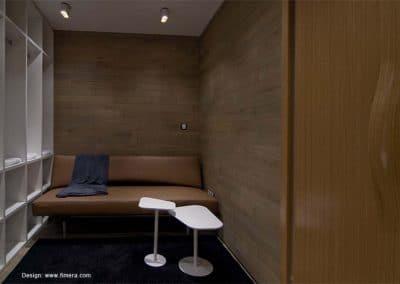 """Дъбова обшивка по стена тип паркетини с ширина 120 мм, качество Рустик, омаслена в цвят """"Графит"""""""