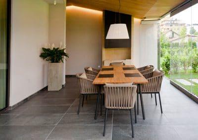 Дъбова обшивка по таван с ширина 40 мм, качество Селект, омаслена, цвят Натурал