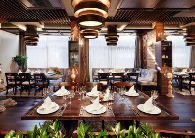 Ресторант Fondue - паркет термоясен
