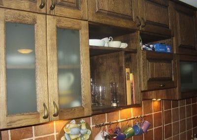 Дъбова кухня, обработка масло Античен дъб