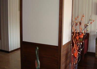 "Облицовка колона по проект лак, цвят ""Мока"" - хотел Regnum, гр. Банско"