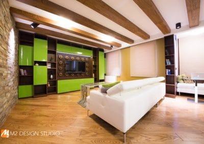 Паркет дъб масив с ширина 150 мм, качество Селект, фабрично структуриран с четки, цвят Кафява патина
