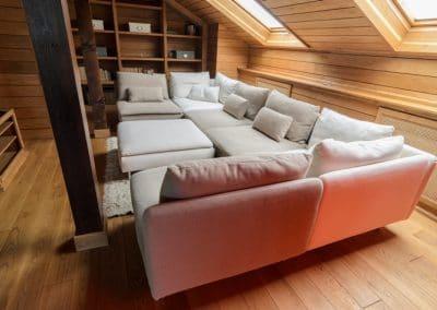 Паркет дъб масив с ширина 150 мм, качество Натюр, фабрично омаслен в цвят Бърнстейн