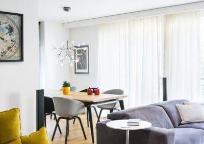 Дюшеме дъб 150 мм, качество Селект, прозрачен лак/Solid oak flooring, 150 mm width, quality Select, varnished