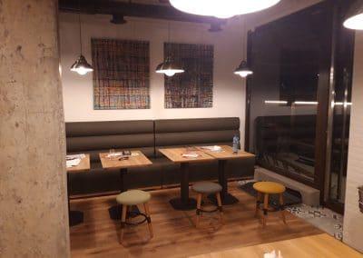 150 мм прозрачно масло, ресторант La Terra, ул. Костенски Водопад 9, проект Асен Николов