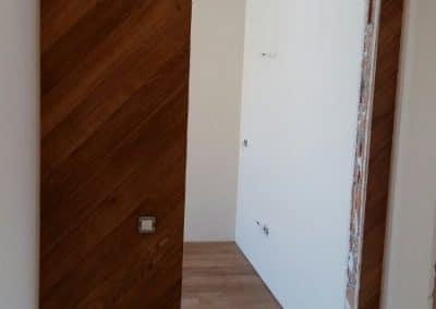Обшивка за стена 120 х 15 мм, качество Натюр, омаслена в цвят орех