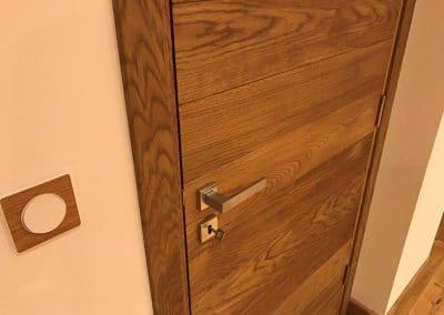 Интериорна врата тип Ламелна омаслена Светъл дъб