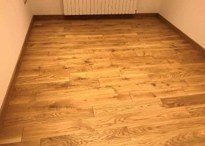 Oak flooring 150 x 20 x 600-200 mm, quality Rustic, oiled light oak